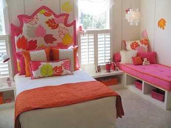Ideas para decorar la cama de las niñas