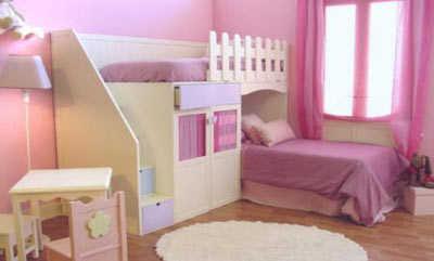 Lindos modelos de camas para habitaci n de ni as planeta for Programa decoracion habitaciones