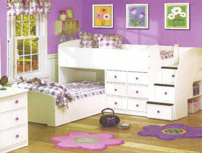 Lindos modelos de camas para habitaci n de ni as planeta - Cama de princesa para nina ...