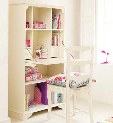 Muebles b sicos para el cuarto de las ni as by aspace - Escritorios de ninas ...
