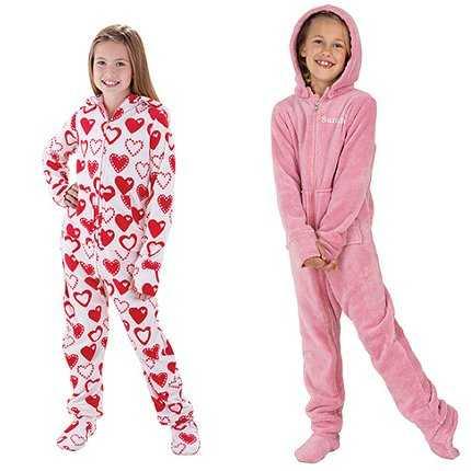 Divertidos modelos de pijamas de invierno para niñas | Planeta Niñas