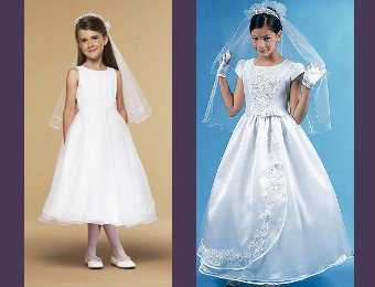 Imagenes de vestidos de primera comunion sencillos
