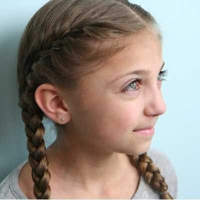 Tipos de trenzas para niñas