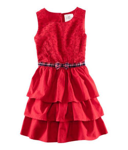 vestido morado para nias vestido