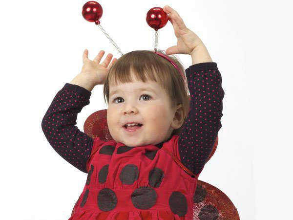 Disfraces para ni a de carnavales las mejores ideas - Disfraz de mariquita bebe ...