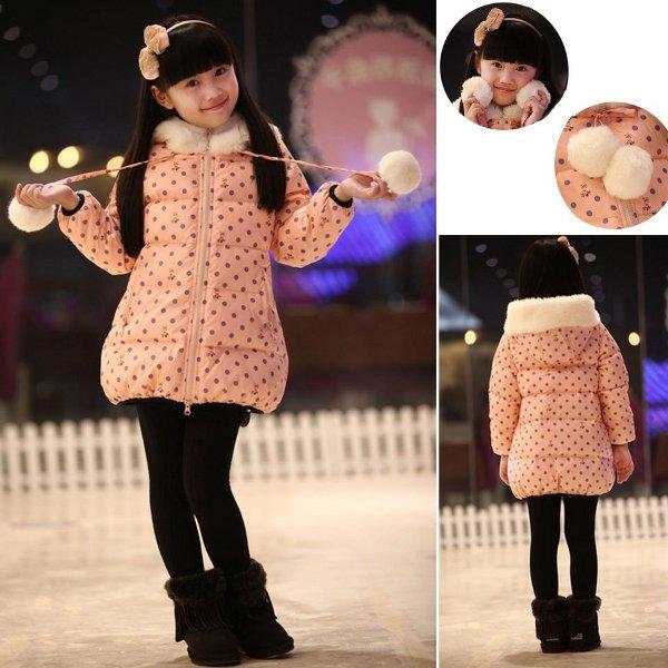 Moda de abrigos para ninas