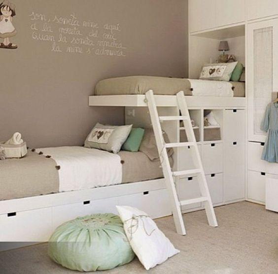 Bedroom Colors Ideas 2016 Loft Bedroom Decorating Ideas Bedroom Top View Bedroom Carpet Malaysia: Inspírate Con Estas 7 Ideas De Camarotes Para Niñas